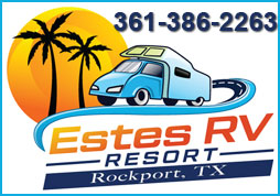 Features Estes RV Resort Is A Beautiful Quiet Park In Rockport Texas Lots Of SHADE Large Concrete Sites City Water And Sewer New On Site Laundry